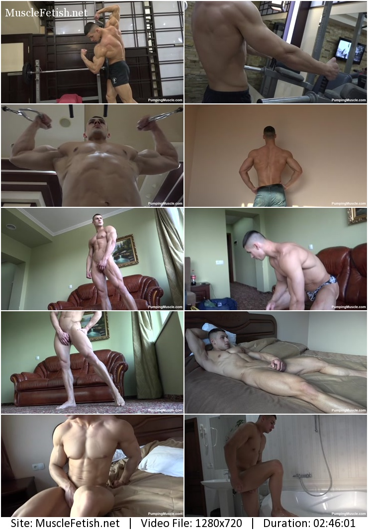 Pumping muscle – Andrei V photo shoot part 1