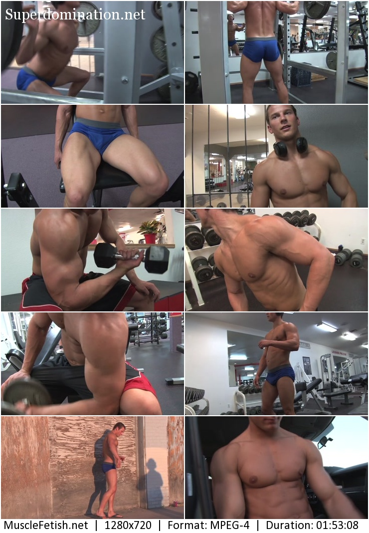 PumpingMuscle – BODYBUILDER JAKE W PHOTO SHOOT PART 5