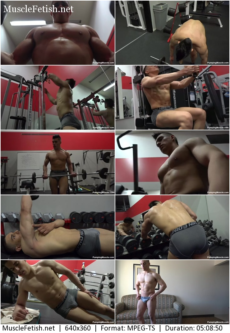 PumpingMuscle – BODYBUILDER NATE R PHOTO SHOOT Part 1
