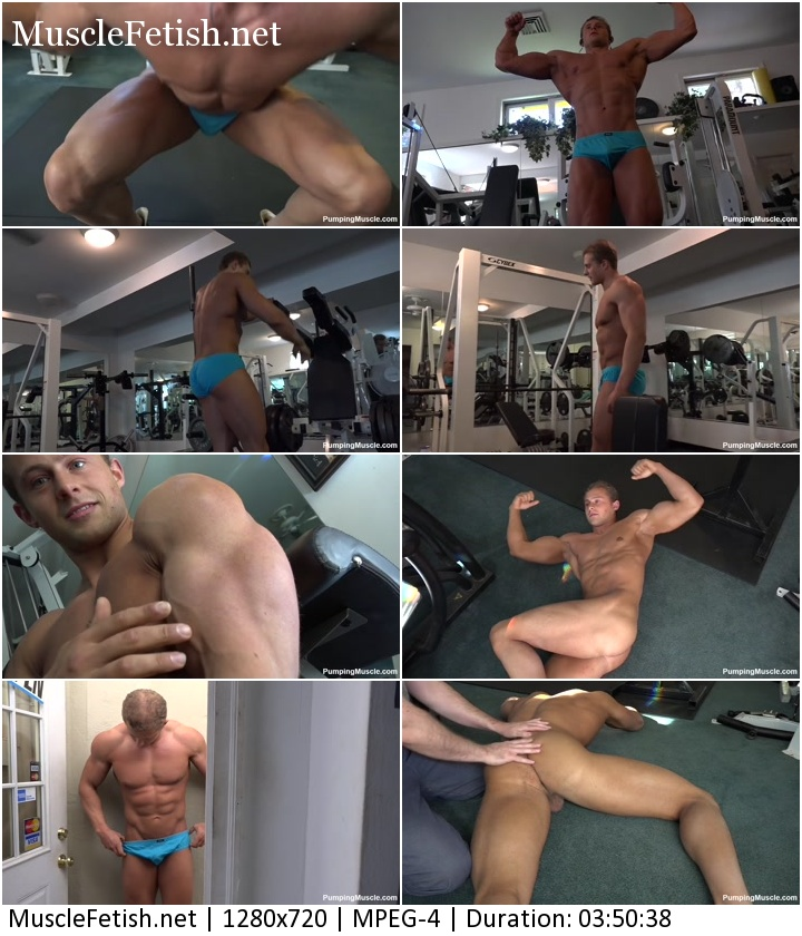 PumpingMuscle – Carson B Photo Shoot 3