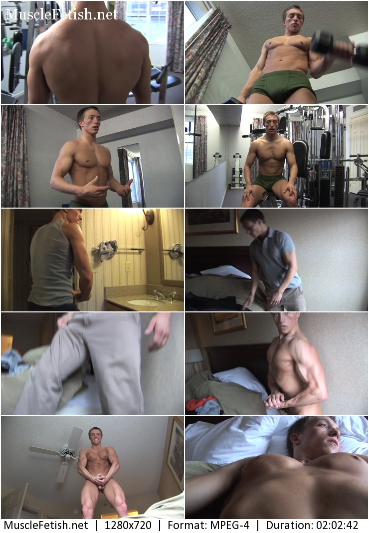 PumpingMuscle – Daniel B photoshoot part 1