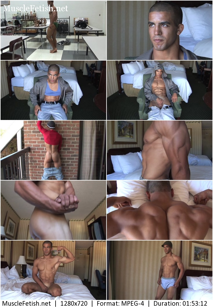 PumpingMuscle - Andre B Photo Shoots Parts 1 and 2