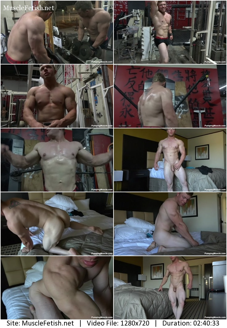 PumpingMuscle - Atticus C photoshoot part 5