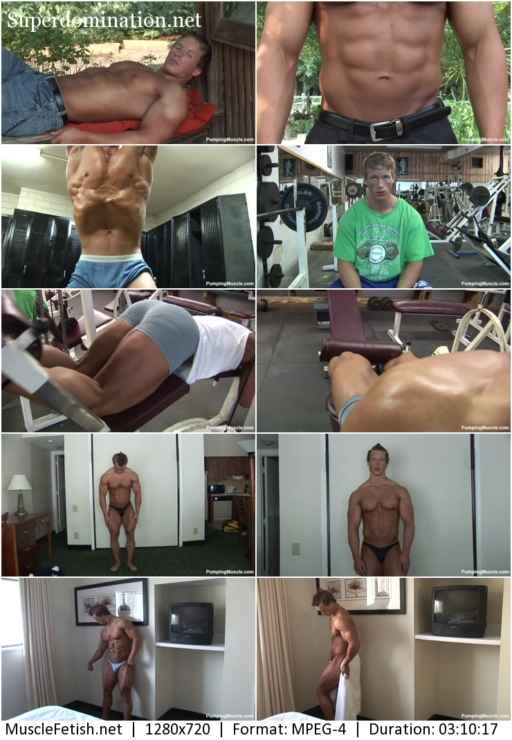 PumpingMuscle - Bodybuilder Benjamin L Photo Shoot part 1