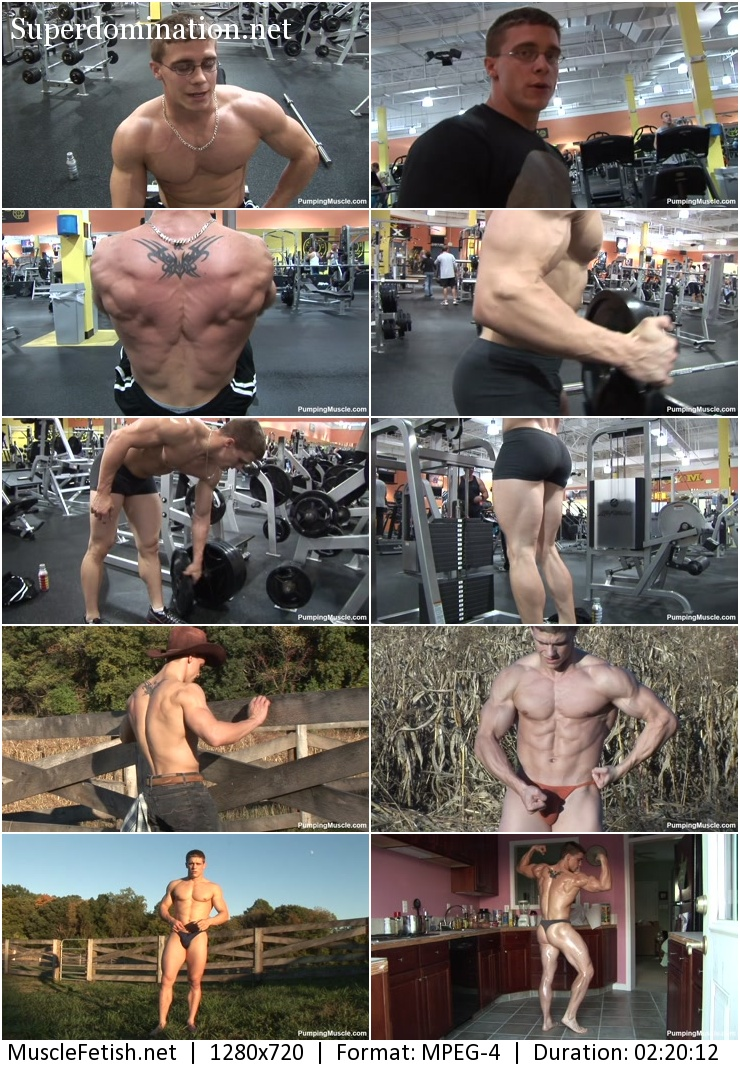 PumpingMuscle - Bodybuilder Greg W PhotoShoot Part 1