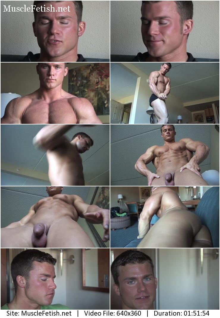 PumpingMuscle - Bodybuilder Jason Johnson (Eli Blahut) Photo shoot part 1
