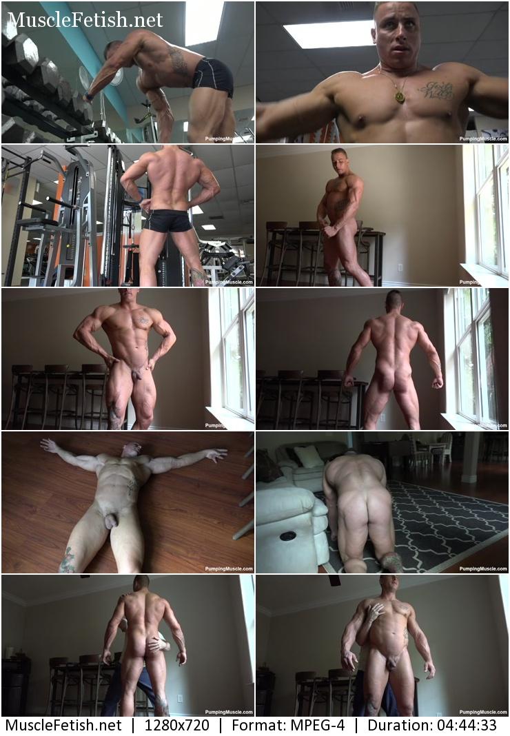 PumpingMuscle - Bodybuilder Konner P Photoshoot Part 1