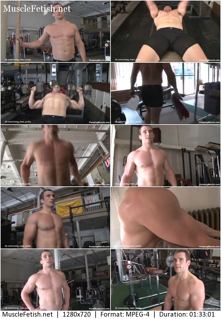 PumpingMuscle - Bodybuilder and model Travis H. Photo Shoot 2015 part 1