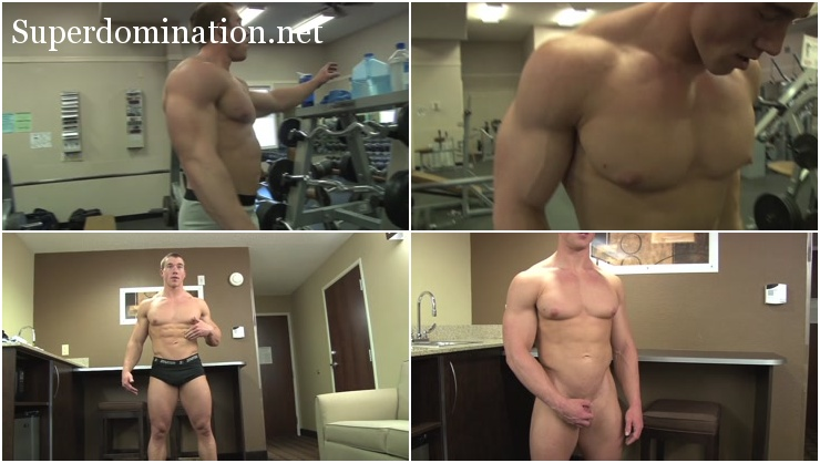 PumpingMuscle Brandon B Photo Shoot 3 - Bodybuilder from Vimeo (November 12, 2014)