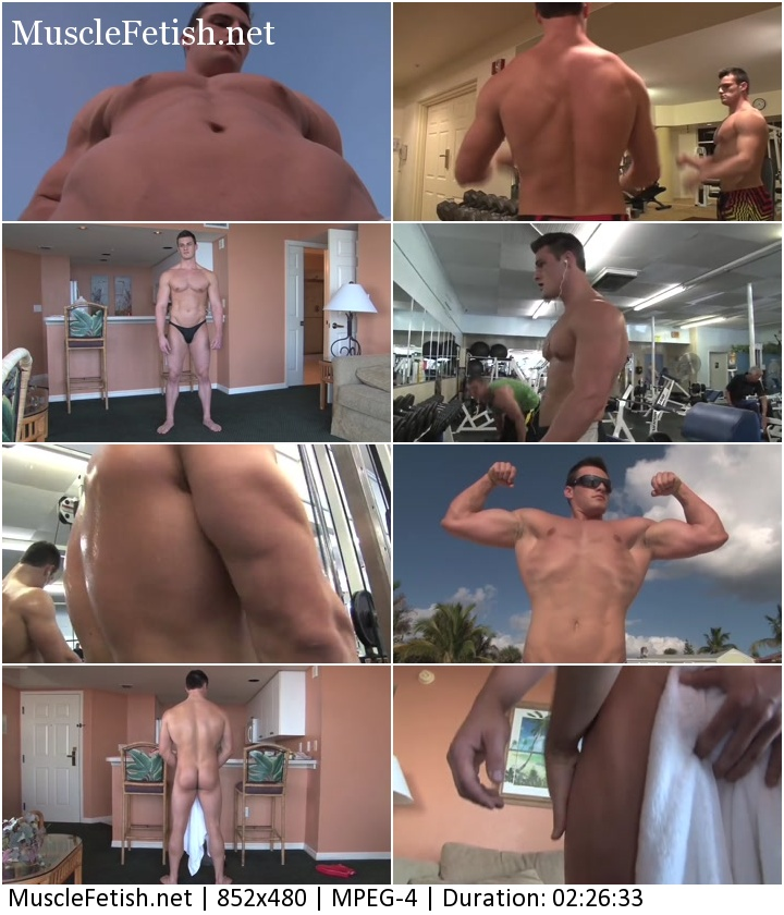 PumpingMuscle - Collin H photoshoot 2