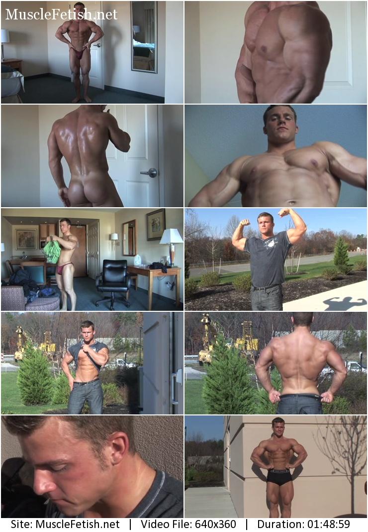 PumpingMuscle - Eli Blahut (Jason Johnson) Photo Shoot part 2