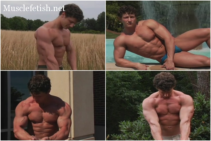 PumpingMuscle Hot Bodybuilder Frank Yeigh Photo Shoot 2006