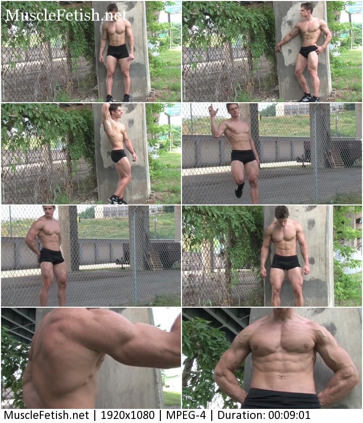 PumpingMuscle - Ryan Nelson Photo Shoot (short video)