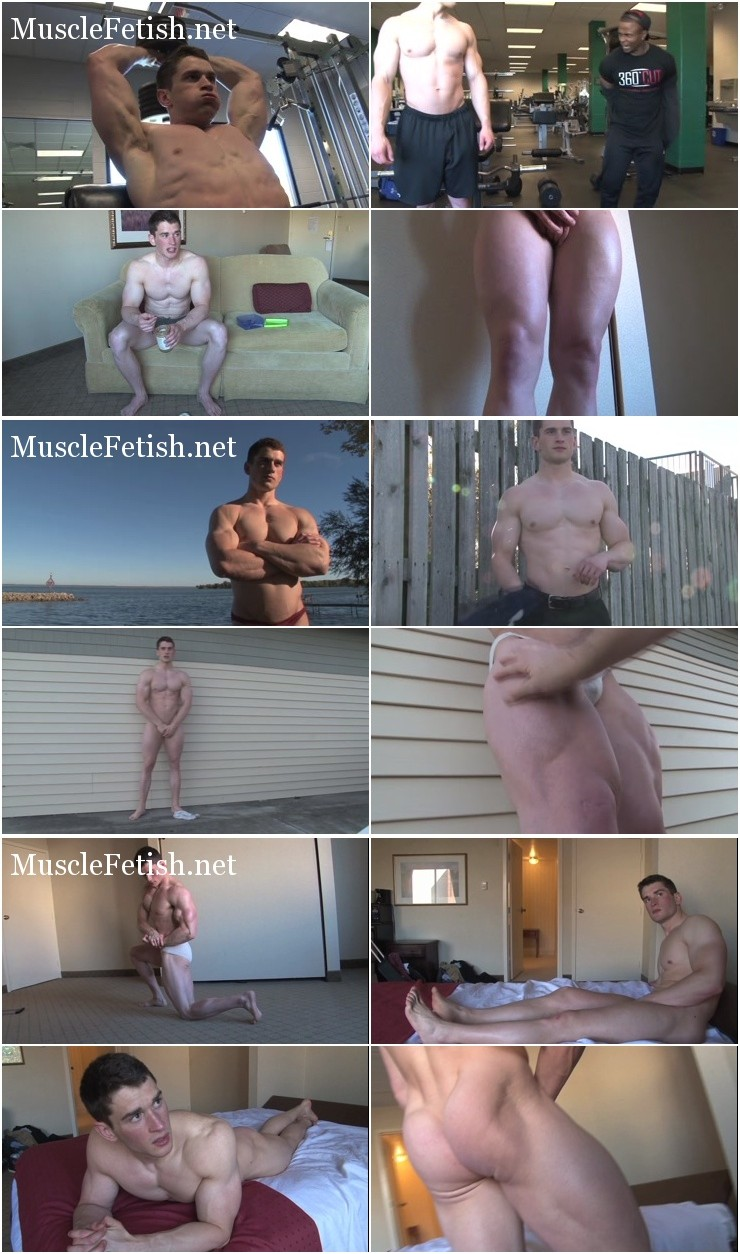 PumpingMuscle Series: Lance T Photoshoots 1-4