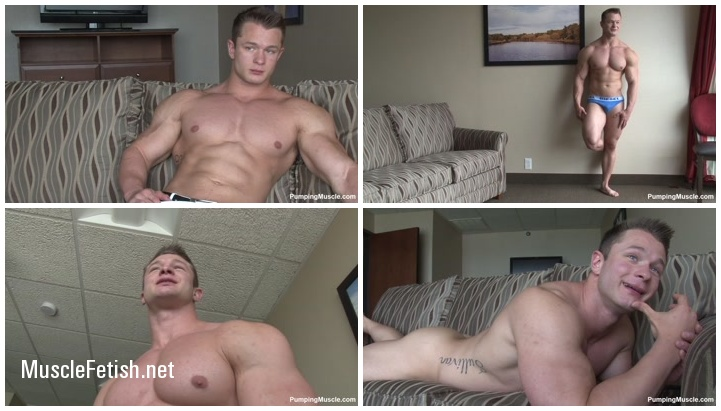 PumpingMuscle - Trevor M (aka Daniel Carter) Photo Shoot 2