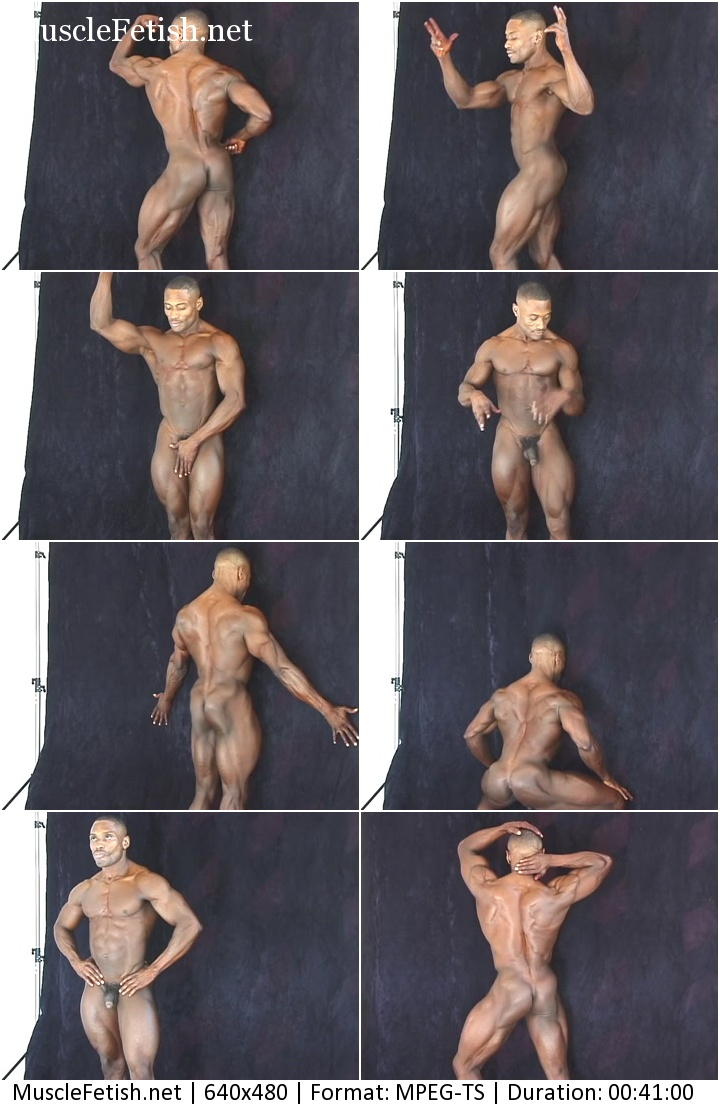 PumpingMuscle - black bodybuilder Henderson G photoshoot 2014