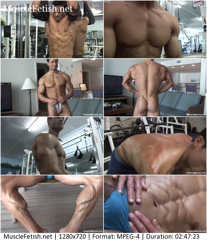 PumpingMuscle - bodybuilder Aidan G photoshoot part 3
