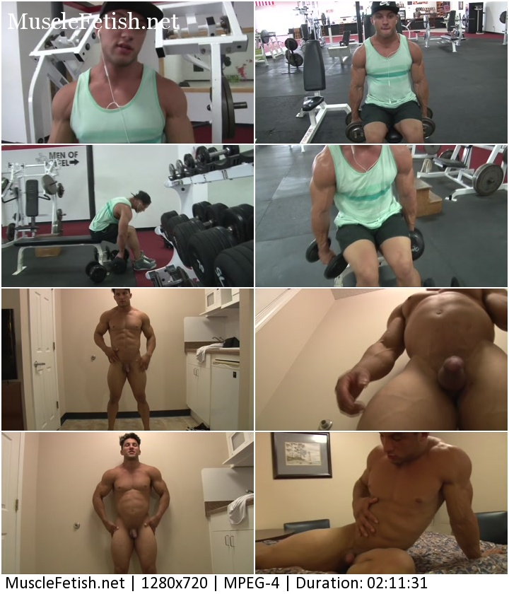 PumpingMuscle bodybuilder Austin C photoshoot 3