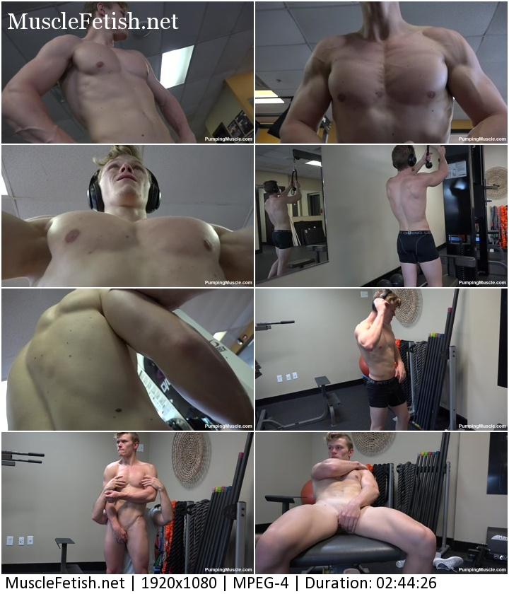 PumpingMuscle - bodybuilder Brady W photoshoot 2 (December 24, 2018)