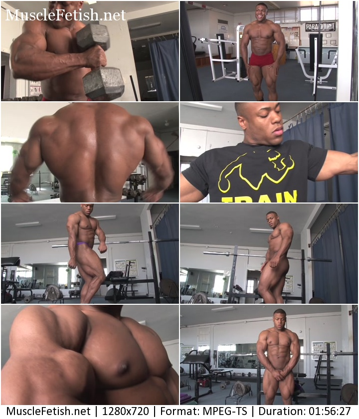 PumpingMuscle - bodybuilder Chris K photoshoot (November 4, 2014)