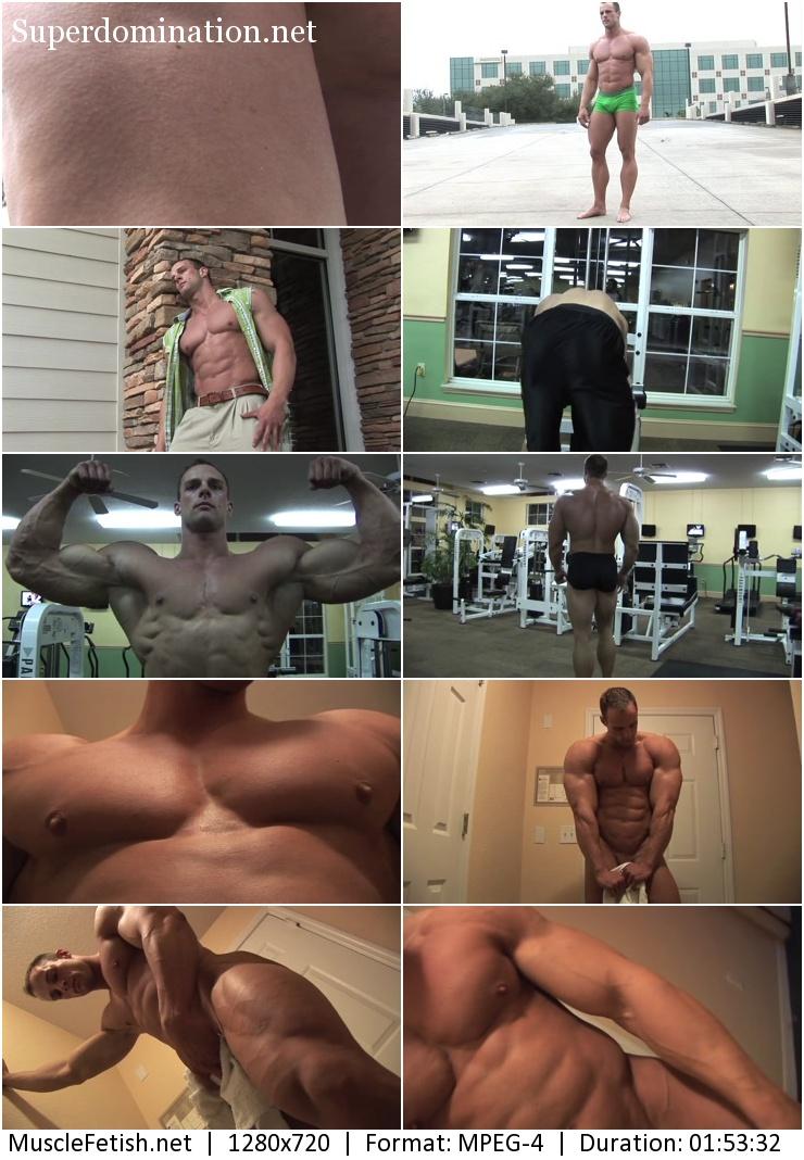 PumpingMuscle - bodybuilder Coty Reutzel photoshoot 1