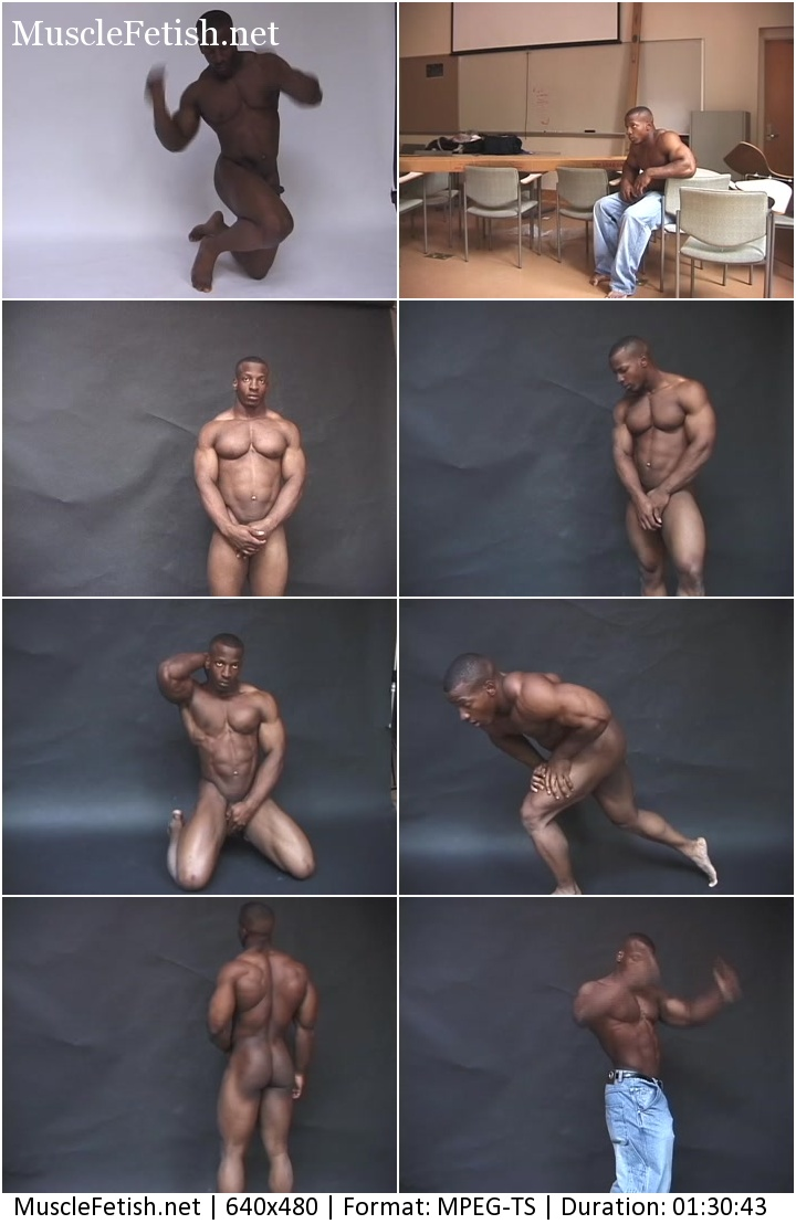 PumpingMuscle - bodybuilder Durrell L photoshoot 2 (November 25, 2014)