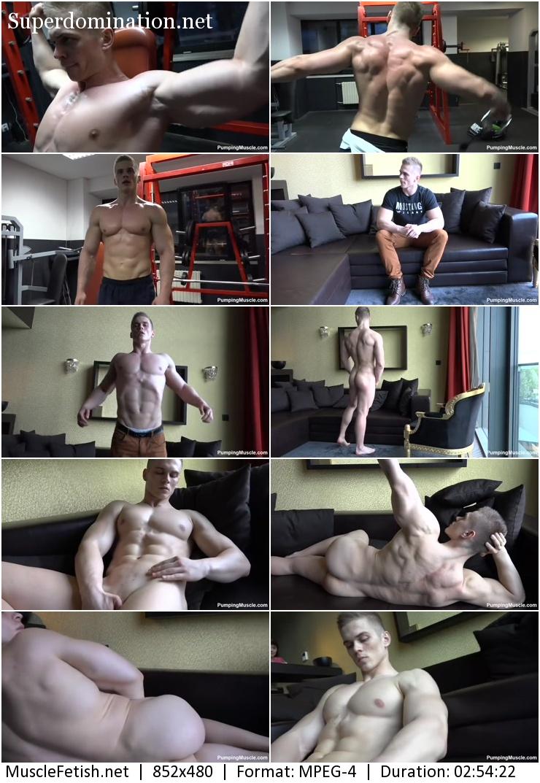 PumpingMuscle - bodybuilder James V photoshoot 2 (August 11, 2016)
