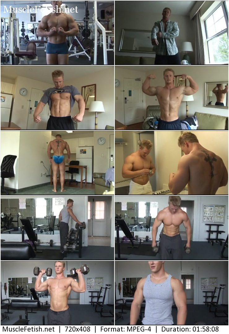 PumpingMuscle - bodybuilder Kevin S Photoshoot part 1