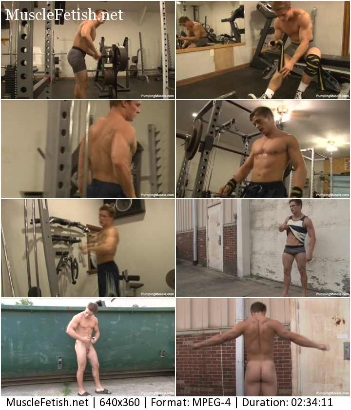 PumpingMuscle - bodybuilder Tyler N photoshoot part 2 (October 21, 2015)