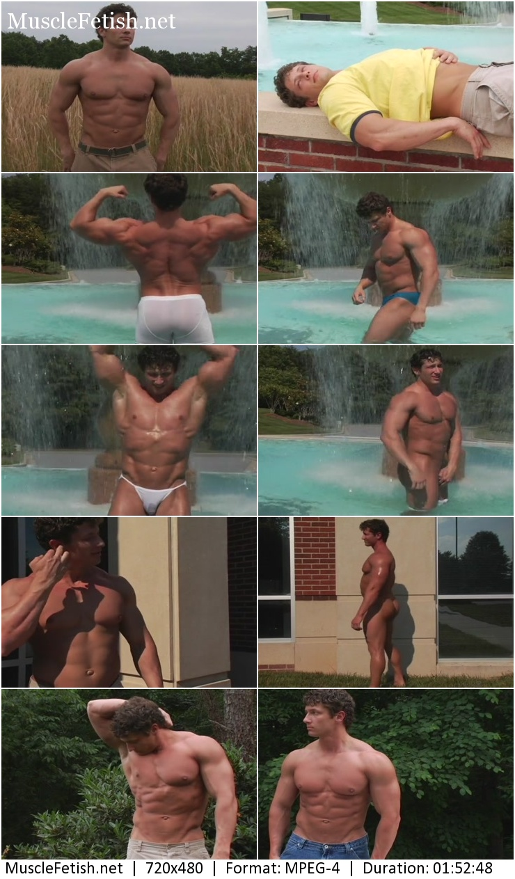 PumpingMuscle - natural bodybuilder Frank Yeigh photoshoot 2006 year