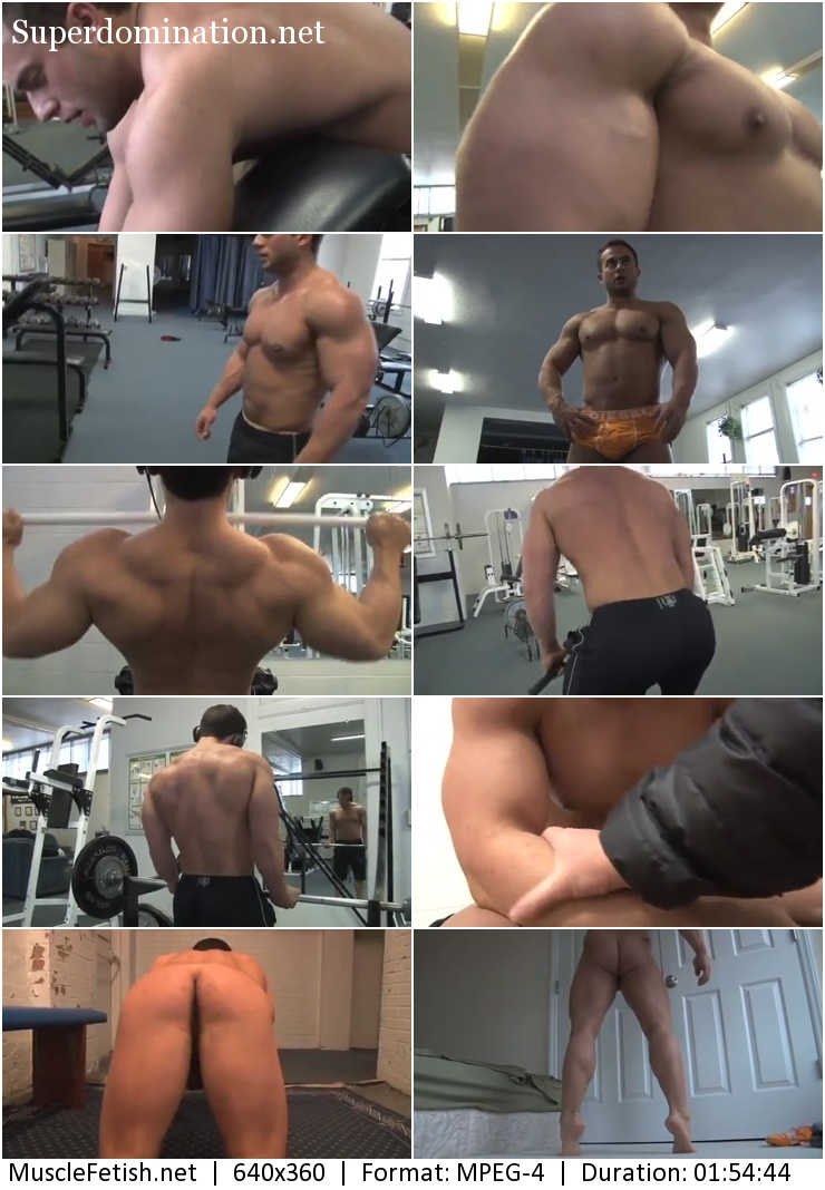 PumpingMuscle video - BODYBUILDER SOLOMON W PHOTOSHOOT PART 2