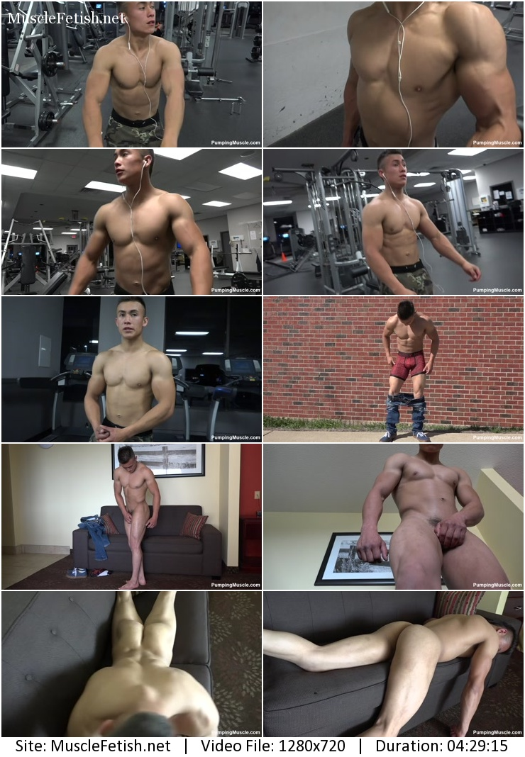 Pumpingmuscle – Clark G Photoshoot