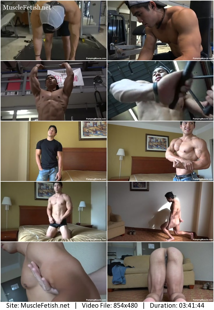 Pumpingmuscle – bodybuilder Jay C photo shoot part 3