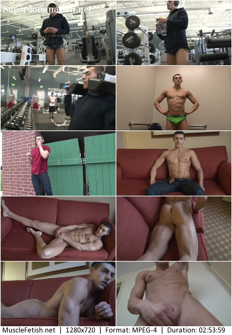 Pumpingmuscle - Bodybuilder BRANDON U PHOTO SHOOT Part 1