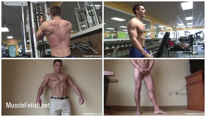 Pumpingmuscle - Bodybuilder Chris S Photo Shoot 1