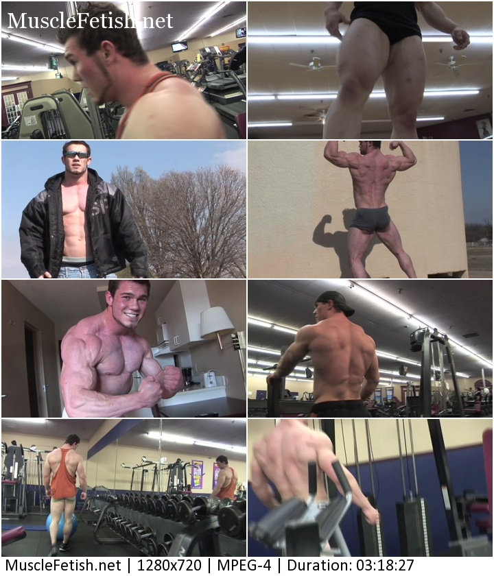Pumpingmuscle - Bodybuilder Dylan P Photo Shoot