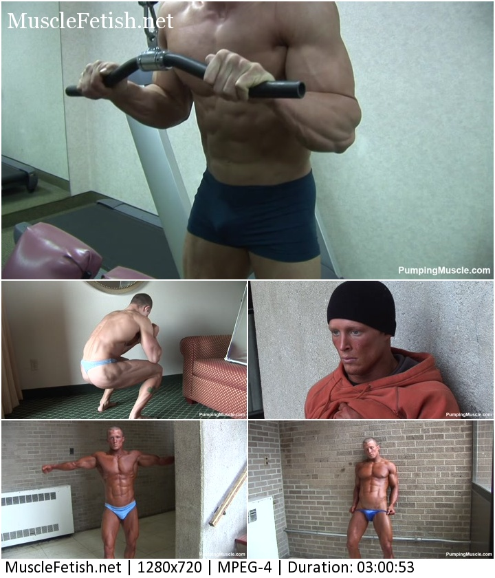 Pumpingmuscle - Bodybuilder John F at 22 and 25