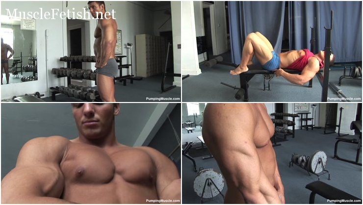 Pumpingmuscle - Bodybuilder Lukas D Collection