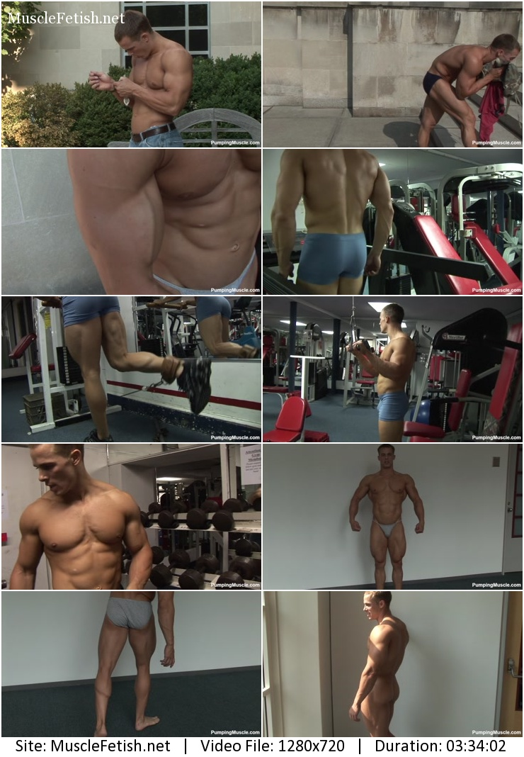 Pumpingmuscle - Bodybuilder Nick T photoshoot