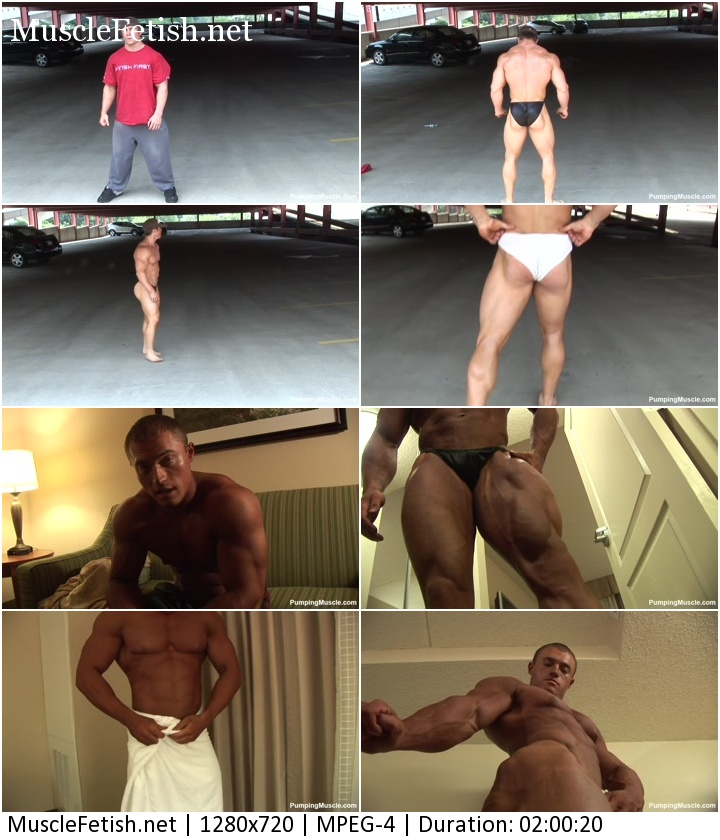 Pumpingmuscle - Bodybuilders Aaron C and Santino P Photoshoot