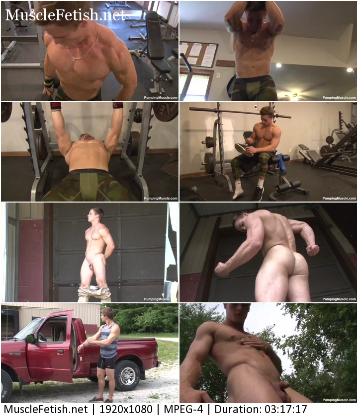 Pumpingmuscle - Leif Photo Shoot Part 1