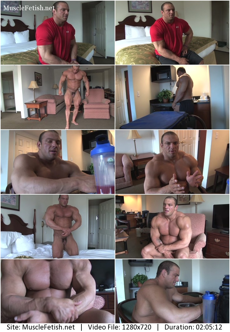Pumpingmuscle - Lukas D photo shoot 4