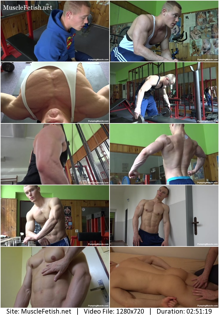 Pumpingmuscle - Mason R photo shoot part 4