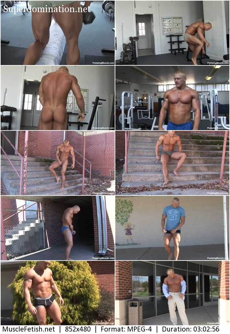 Pumpingmuscle video - Bodybuilder John B Photo Shoot 2 (2016 year)