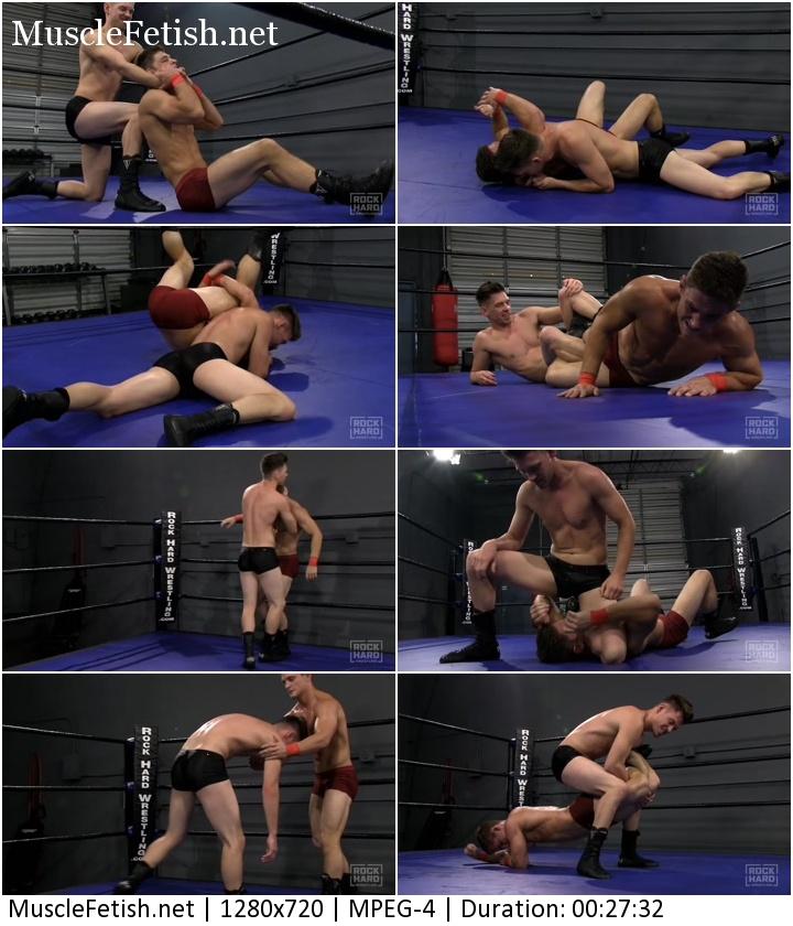 Rock hard wrestling video - Young Wrestler Ethan Andrews (aka Axel) vs Rex Bedford