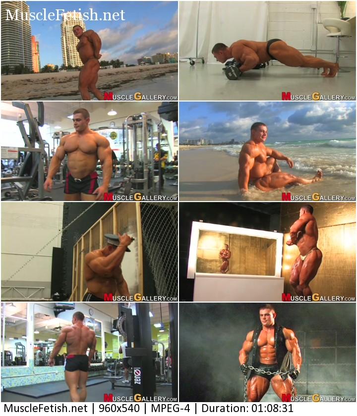 Russian Bodybuilder Alexey Lesukov. Enjoy 23 exclusive video clips of this sensational young bodybuilder.