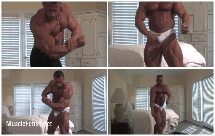 Russian Bodybuilder Evgeny Mishin - Muscle Worship Part 2