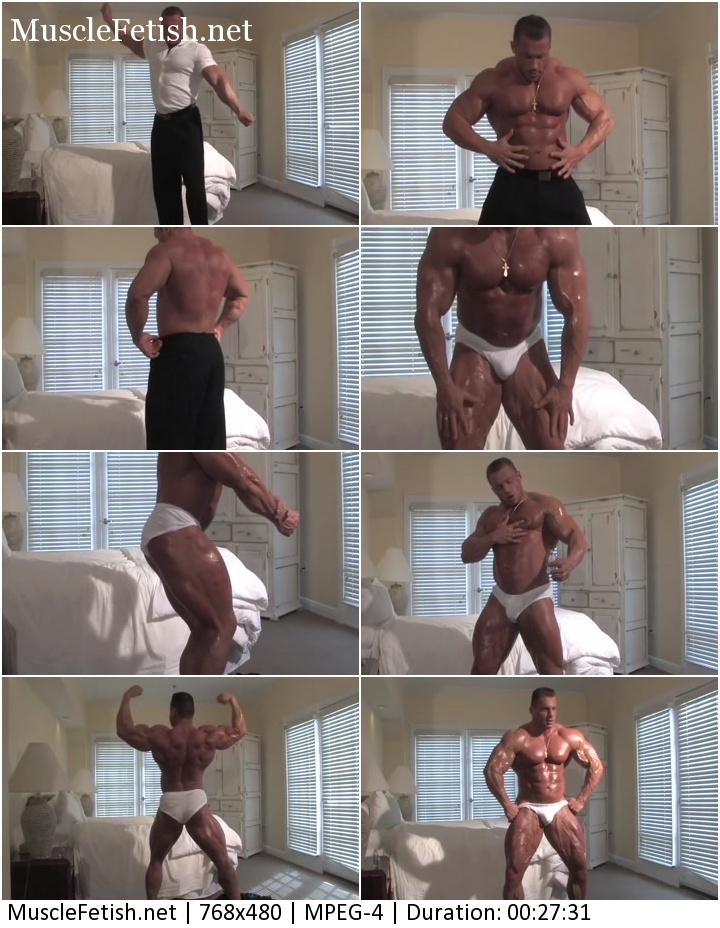 Russian Bodybuilder Evgeny Mishin - Muscle Worship Photo Shoot 2
