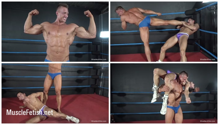 Russian bodybuilder Dimitri Darkthorn vs Drago