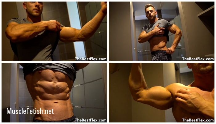 Ryan James from TheBestFlex - Ripped Blonde Muscle Hunk